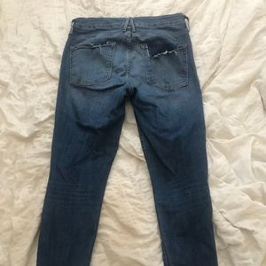 Good American Distressed Jeans
